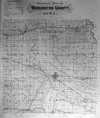 Washington County Maps by Family Tree John Mcdonald 1803 1883