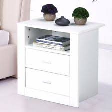 White Bedside Table White Colour Bedside Tables Ebay