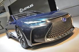 lexus ls hydrogen hydrogen powered lexus lf fc concept previews next gen ls flagship
