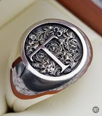seal rings design images 20 best signet rings images signet ring family jpg