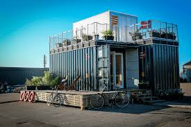 cph shelter is a concept of sustainable houses made from old