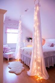 Cool Lighting For Bedrooms String Light Ideas For Bedroom Katecaudillo Me