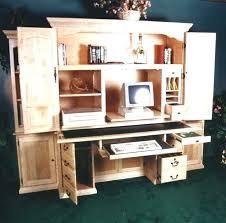 Corner Computer Armoire Armoire Computer Desk Shippies Co