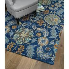 navy floral rugs u0026 area rugs for less overstock com