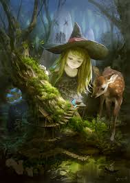 Little Witch Anime Also See Fantasy Screensavers At Www