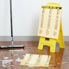 Wet Floor Images by Rubbermaid Over The Spill Kit With Caution Wet Floor Sign Medium