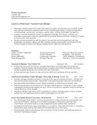 project manager resume examples real estate project manager resume best resume sample manager commercial real estate project manager in seattle wa resume ygl6dkfc