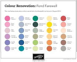 list of colours retiring colours enchantink
