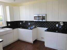white ceramic floor ideas kitchen cabinet modern small space