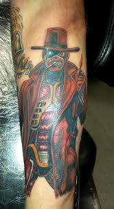 iron maiden tattoo stranger in a strange land sleeve work ideas