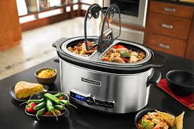 hot deals dealsmaven com price drop kitchenaid 6 quart stainless steel slow cooker with easy serve glass lid only 49 05 dropped from 119 99