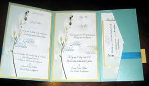 folding wedding invitations tri fold wedding invitations marialonghi