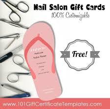 nail salon gift cards nail salon gift certificates