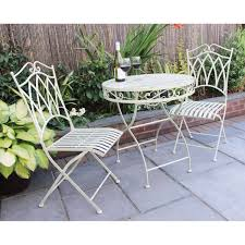 Tesco Bistro Chairs 2 Seater Wrought Iron Bistro Set Buydirect4