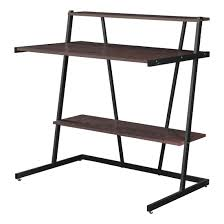 Small Cherry Writing Desk by Altra Cherry And Black Small Computer Desk With Shelf 9391096