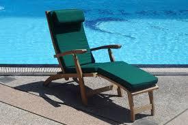 Teak Deck Chairs Teak And Sunbrella Parasols
