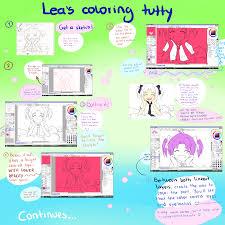 sai coloring tutorial part 1 by leaglem on deviantart