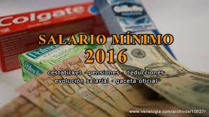 aumento el salario para empleadas domesticas 2016 en uruguay salario mínimo 2016 en venezuela venelogía