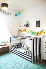 best 25 toddler floor bed ideas on pinterest toddler bed judah s bright bold room of fun kids room tour