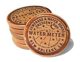 new orleans water meter new orleans water meter coaster set neutral ground
