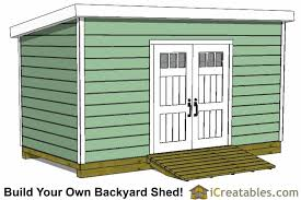 Storage Building Floor Plans 8x20 Lean To Shed Plans Storage Shed Plans Icreatables Com
