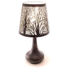 Chrome Lamp Chrome Touch Lamp Dimmer Bedside Table Light New York City Skyline