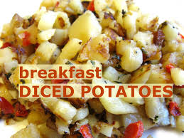 how to cook make diced potato breakfast meal hash brown