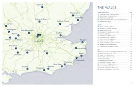 Berkshire England Map by Wild Swimming Walks Book Wild Things Publishing