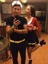 olive oyl costume 75 stylish couples costumes for 2017 for creative juice