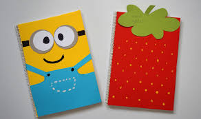 diy notebook covers minions u0026 strawberry back to 2015