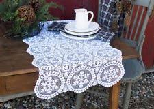 Navy Blue Lace Table Runner Christmas Table Runners Ebay