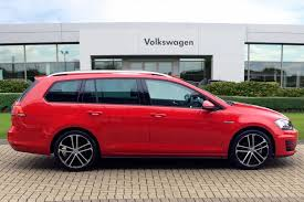 red volkswagen golf find a used red vw golf diesel estate 2 0 tdi 184 gtd 5dr dsg in