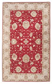 Pink Floral Rugs Red Hand Tufted Traditional Wool Floral Rug