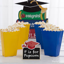 Graduation Boxes Kindergarten Graduation Popcorn Box Idea Party City
