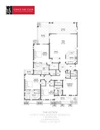 three bedroom residence grace bay club