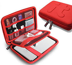 Electronics accessories case travel organizer travel packing