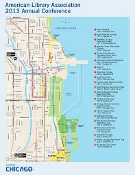 Map Of Downtown Chicago Il by Chicago Map Us
