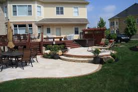 Composite Patio Pavers by Travertine Stone Patio With Brick Paver Border Natural Stone Step