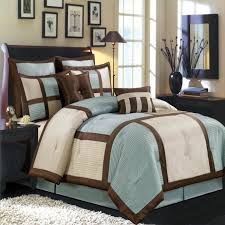 Duck Egg Blue Bed Linen - bedding tan and blue bedding linen floral bedding tan and blue