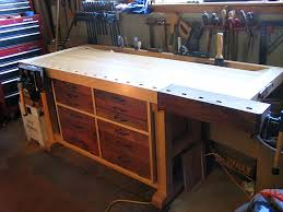 Ideas For Workbench With Drawers Design Made A Workbench Similar To This One But Got Rid Of It Due