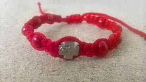 red beads bracelet images Handmade christian red prayer ropes beads bracelet exy shop jpg