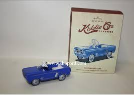 hallmark 2015 1965 ford mustang kiddie car classics ornament qep2149