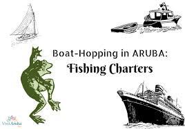 boat hopping with aruba u0027s fishing charters visit aruba blog