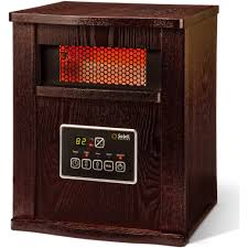 soleil infrared 4 element quartz electric room heater with remote