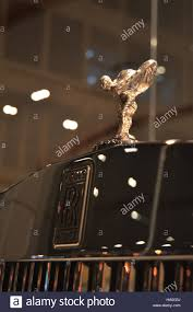 spirit of ecstasy ornament of the new rolls royce phantom