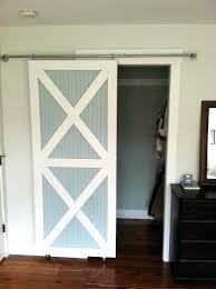 Sliding Barn Doors For Closets Sliding Barn Closet Doors Cool On Style 14 Plan