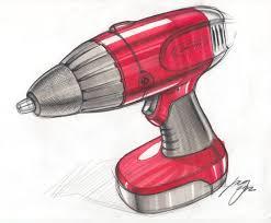 sketch of a drill by designer spencer nugent idsketching