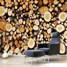beibehang large custom retro nostalgia european style wood wood
