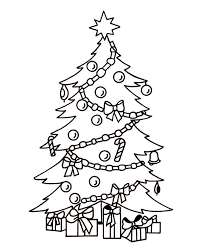 printable christmas pages for coloring christmas tree with presents coloring pages getcoloringpages com