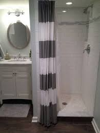 Stand Up Shower Curtains Walk In Shower With Curtain Instead Of Door Search